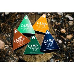 Camp Wojtyla Mountain Stickers